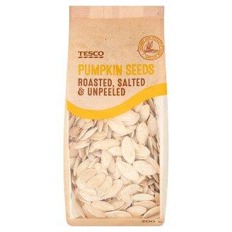 Tesco Roasted, Salted & Unpeeled Pumpkin Seeds 200 g
