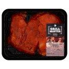 Tesco BBQ fokhagymás-zöldfűszeres csirke combfilé saslik 420 g