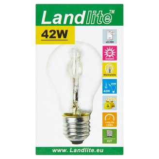 Landlite 630 lm 42 W E27 Energy Saving Halogen Lamp