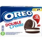 Oreo Double vanília ízű töltelékkel töltött kakaós keksz 170 g