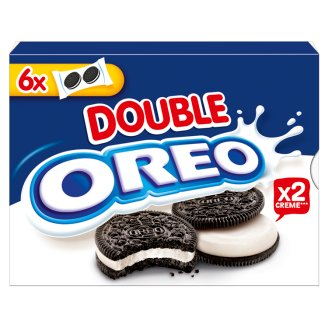 Oreo Double Cocoa Flavoured Sandwich Biscuits 170 g