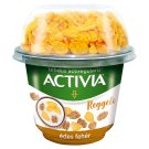 Danone Activia Reggeli Édes Fehér Sweetened Yoghurt with Wheat & Corn Flakes and Live Cultures 168 g