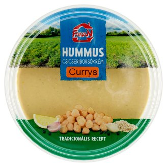 Fanan Hummus-Chickpeas Cream with Curry 250 g