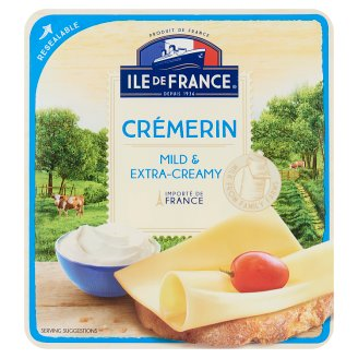 Ile de France Crémerin szeletelt zsíros félkemény sajt 100 g