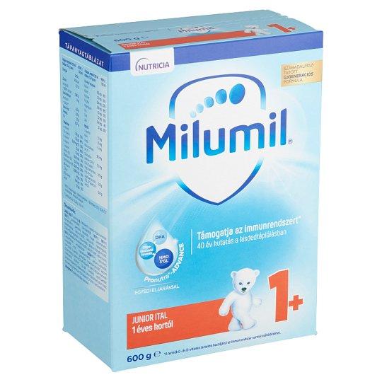 Milumil Junior 1+ gyerekital 1 éves kortól 600 g
