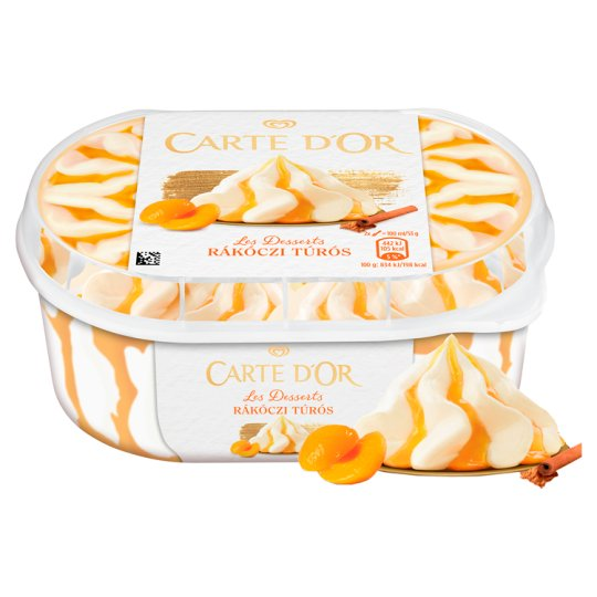 Carte D'Or Rákóczi Túrós Jégkrém 900 ml