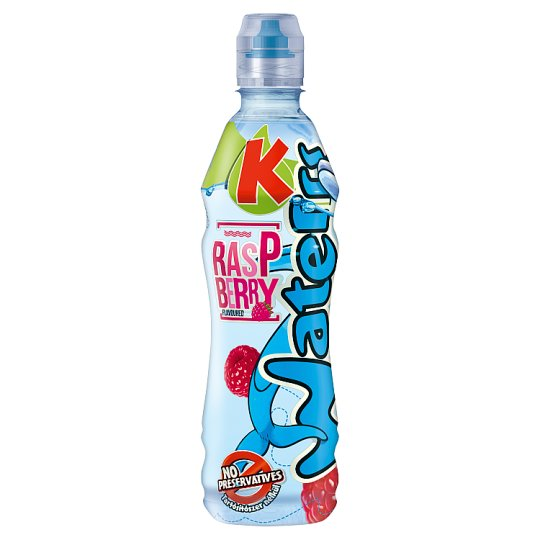 Kubu Waterrr Raspberry Flavoured Non-Carbonated Drink 500 ml
