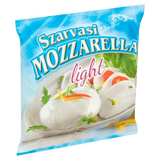 Szarvasi Mozzarella Light Semi-Fat Soft Cheese 100 g