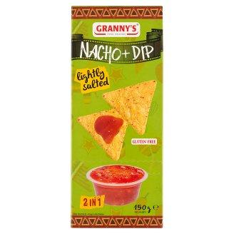 Granny's enyhén sós chips & Salsa Mexicana szósz 150 g