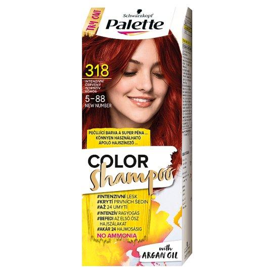 Schwarzkopf Palette Color Shampoo hajszínező 5-88 intenzív vörös (318)