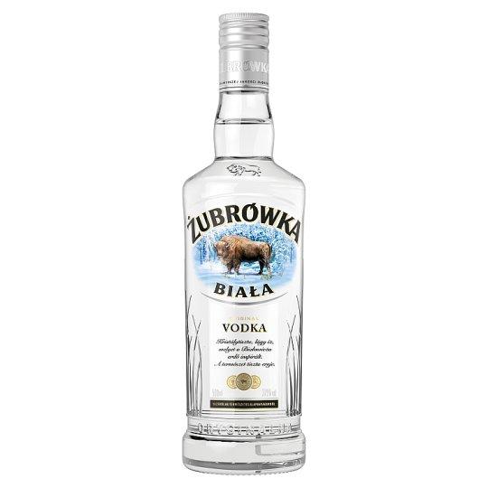 Zubrówka Biala vodka 37,5% 0,5 l