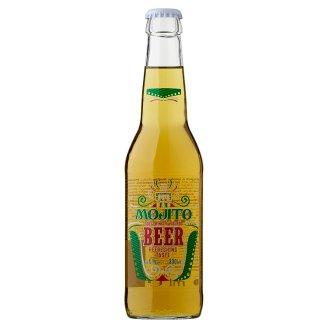 Világos sör és mojito ízesítésű ital keveréke 5% 330 ml