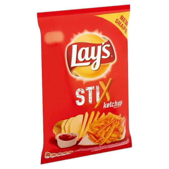 Lay's Stix burgonyachips ketchup jellegű ízesítéssel 70 g
