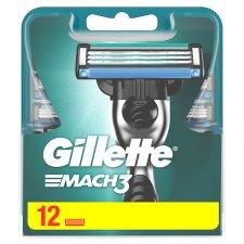 Gillette Mach3 Men's Razor Blades, 12 Refills