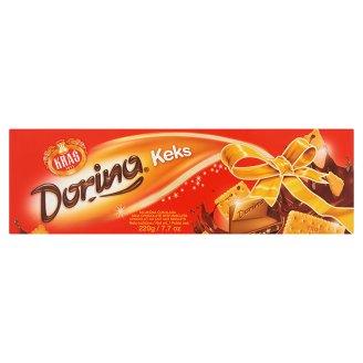 Kraš Dorina kekszes tejcsokoládé 220 g