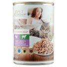 Tesco Pet Specialist teljes értékű állateledel felnőtt macskák számára pulykával és báránnyal 415 g