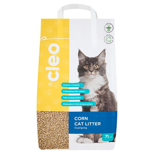 Cleo Cat Litter Made From Corn 7 l