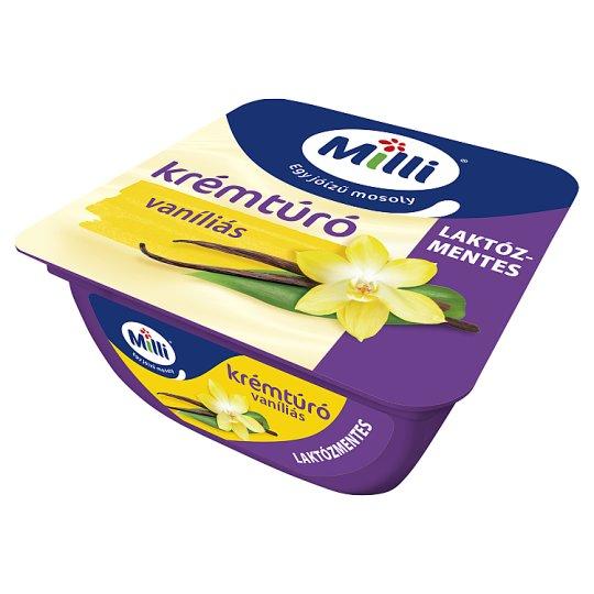 Milli Lactose-Free Vanilla Flavoured Cottage Cheese Cream 90 g