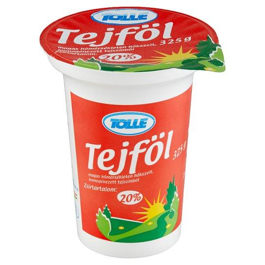 Tolle tejföl 20% 325 g