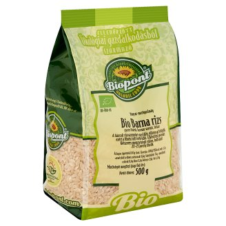 Biopont BIO barna rizs 500 g