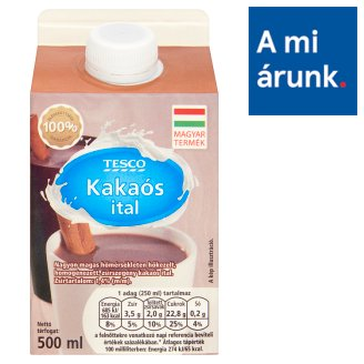 Tesco Low-Fat Cocoa Drink 1,4% 500 ml