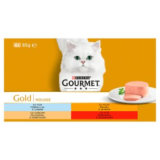 Tesco Gourmet Gold Cat Food