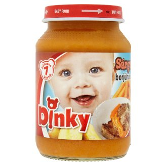 Dinky Gluten-Free Carrot with Veal Baby Food 7+ Months 190 g