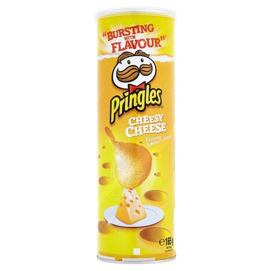 Pringles sajtos ízesítésű snack 165 g