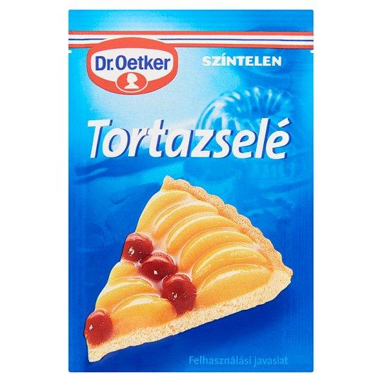 Dr. Oetker Colourless Gelatine Cake Covering 12 g