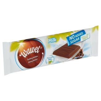 Wawel No Added Sugar Milk Chocolate with Sweetener 30 g