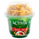 Danone Activia Reggeli Strawberry Flavoured Yoghurt with Wheat & Corn Flakes and Live Cultures 168 g