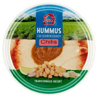 Fanan hummus-csicseriborsó krém chilis csípős szósszal 250 g