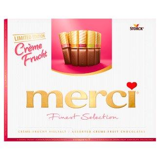 Merci Finest Selection 4 gyümölcskrémes csokoládékülönlegesség 250 g
