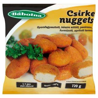 Bábolna gyorsfagyasztott csirke nuggets 720 g