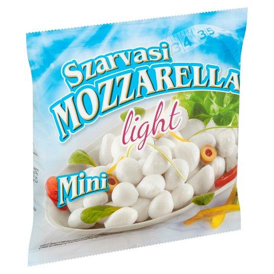 Szarvasi Mozzarella Mini Light félzsíros lágy sajt 100 g