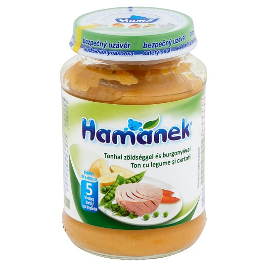 Hamánek Tuna with Vegetables and Potatoes Baby Food 5+ Months 190 g