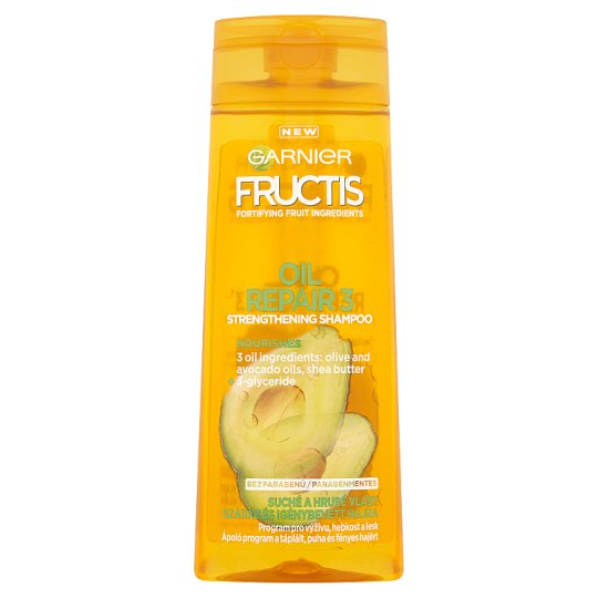 Garnier Fructis Oil Repair 3 Strengthening Shampoo 250 ml