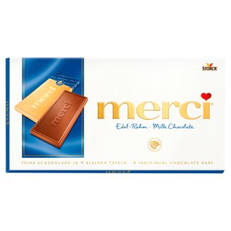 Merci Milk Chocolate Bar 100 g