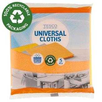 Tesco Universal Cloths 5 pcs
