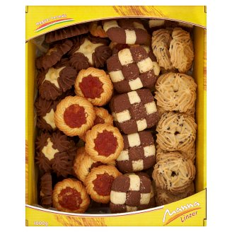 Manna Linzer Mixed Sweet Cookies 1 kg