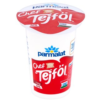 Parmalat Chef élőflórás tejföl 20% 330 g