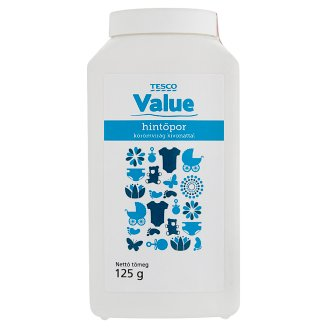 Tesco Value Talcum Powder with Marigold Extract 125 g