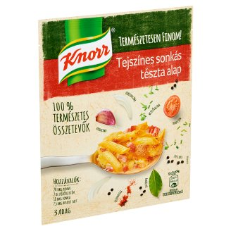 Knorr tejszínes sonkás tészta alap 44 g