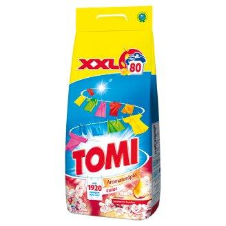 Tomi Aromaterápia Color Illóolajok Japánkert és Tavirózsa mosószer 80 mosás 5,6 kg
