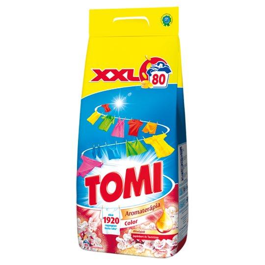 Tomi Aromaterápia Color Essential Oils Japanese Garden-Water Lily Powder Detergent 80 Washes 5,6 kg