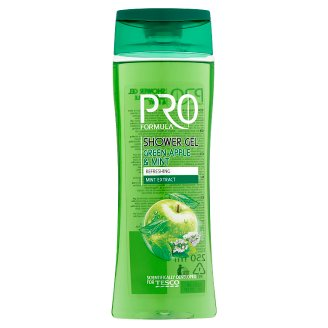 Tesco Pro Formula Green Apple & Mint Shower Gel 250 ml