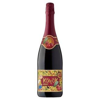 Kölyök Carbonated Sour Cherry Fruit Drink 0,75 l
