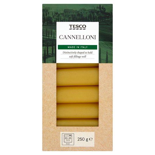 Tesco Cannelloni Durum Dry Pasta 250 g