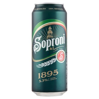 Soproni 1895 Premium Lager Beer 5,3% 0,5 l
