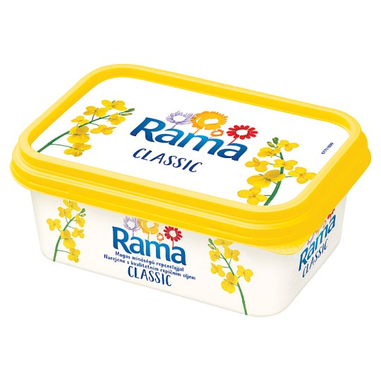 Rama Classic csökkentett zsírtartalmú margarin 250 g